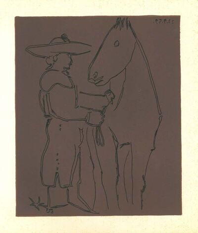 Pablo Picasso, 'Picador et Cheval', 1962