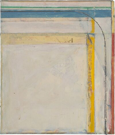 Richard Diebenkorn, 'Cigar Box Lid #4', 1976