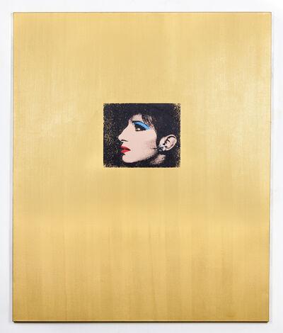 Deborah Kass, 'Gold Barbra', 1992
