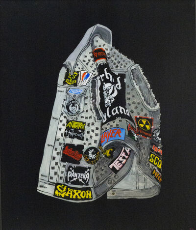Rose Eken, 'Motörhead Battle Jacket With Rivets ', 2018