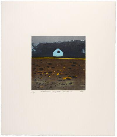 Barbara Rae, 'Hudson's Bay Hut, Fort Ross', 2018