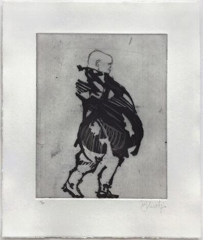 William Kentridge, 'Gentleman (Xeno at 2am)', 2001