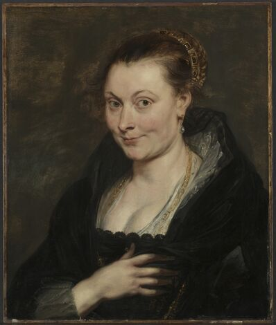 Peter Paul Rubens, 'Portrait of Isabella Brant', c. 1620-1625