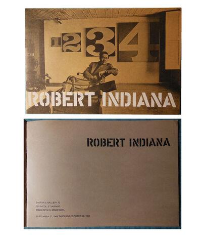"Robert Indiana, '""Robert Indiana"", Exhibition Catalog, Dayton's Gallery 12, Minneapolis', 1966"