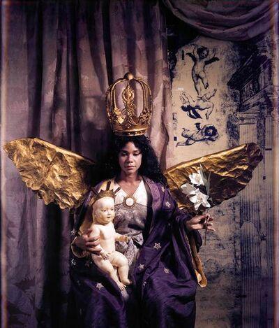 Rose Farrel & George Parkin, 'Virgen del Quinto Sello y el Nino (Virgin of the Fifth Seal and Child)', 1989