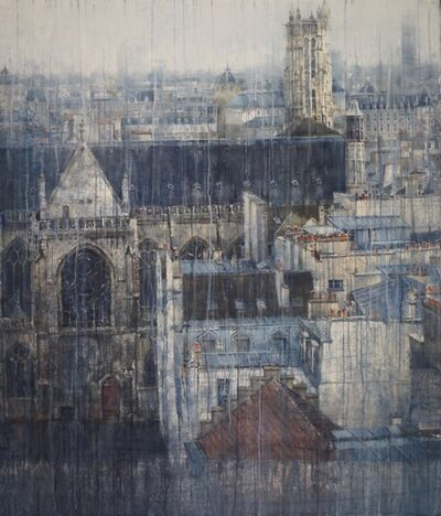 Chizuru Morii Kaplan, 'Parisian Rooftops VI', ca. 2020