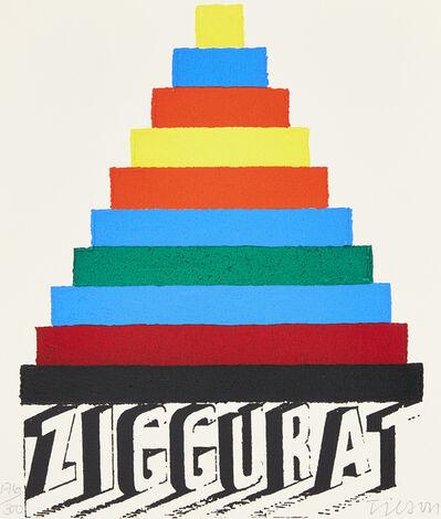 Joe Tilson, 'Ziggurat', 2002