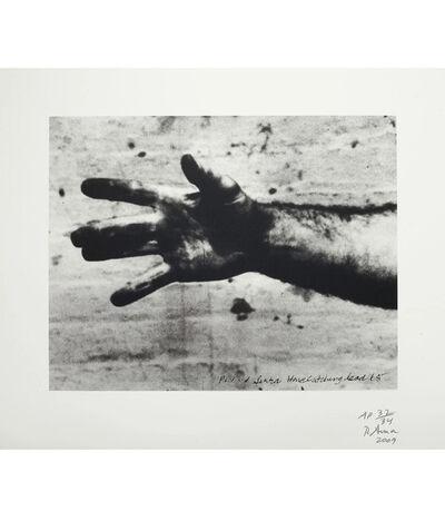 Richard Serra, 'Hand Catching Lead', 2009