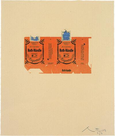 Robert Motherwell, 'Roth-Handle II (orange)', 1975