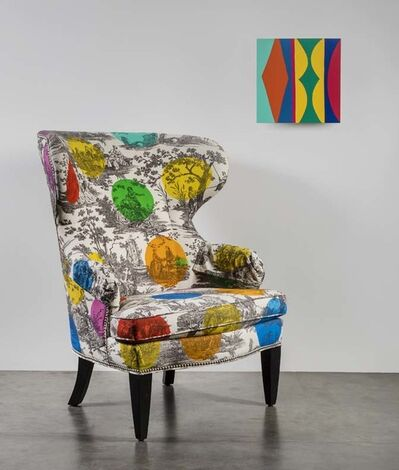 Kim MacConnel, 'How Not To Paint A Chair (Homage to John Baldessari), 7 Gerbil (Abracadabra Series)', 2020 and 2013