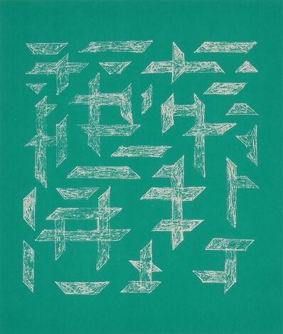 Anni Albers, 'Double Impression II', 1978