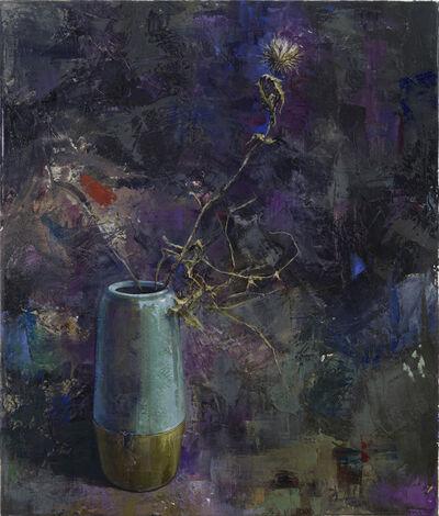 Katrin Brause a.k.a. Heichel, 'Vase mit Distel', 2018