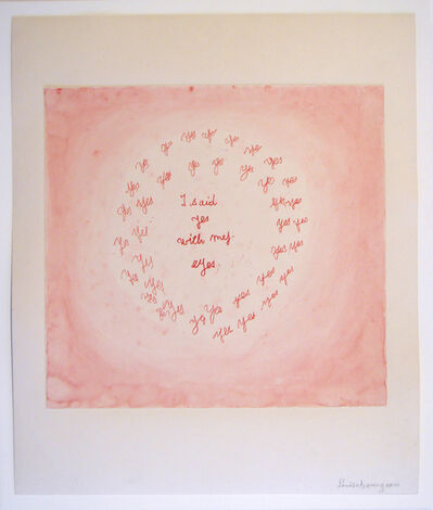 Louise Bourgeois, 'I Said Yes with My Eyes', 2004