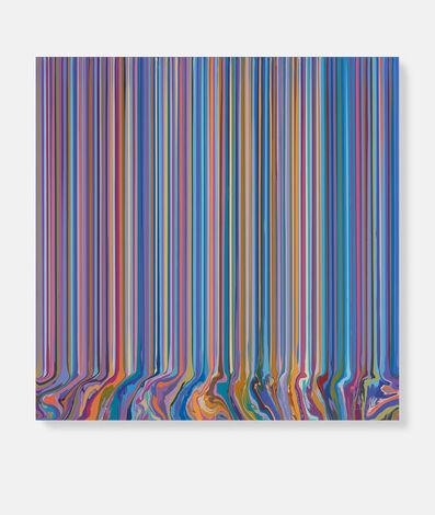 Ian Davenport, 'Purple and Blue (After Bonnard)', 2020