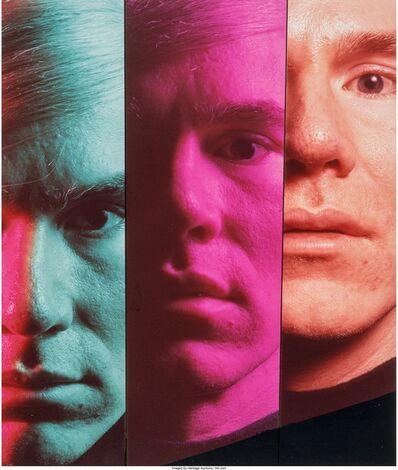 Philippe Halsman, 'Andy Warhol (three photographs)', 1968
