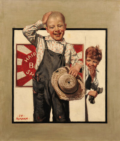 Joseph Francis Kernan, 'Country Gentleman Magazine Cover', 1922