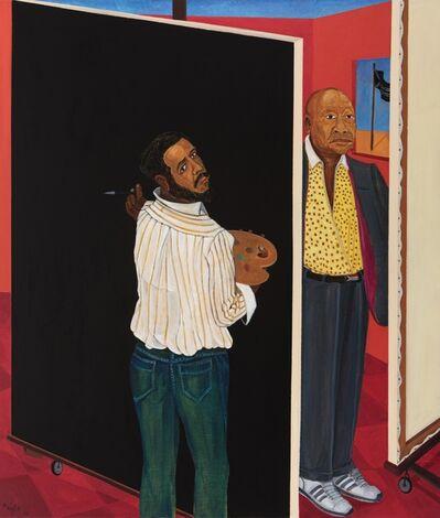 Richard Mudariki, 'Red Studio II', 2018