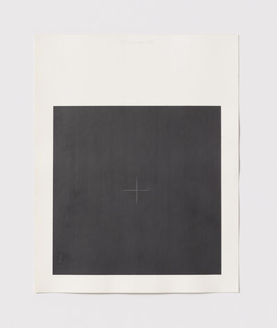 Stephen Antonakos, 'Untitled Cut, O#5', 1977