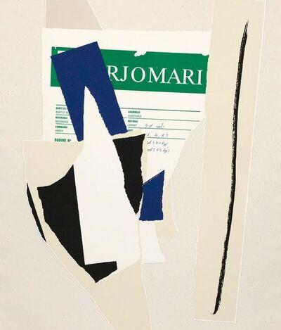 Robert Motherwell, 'American - La France variations IX', 1984