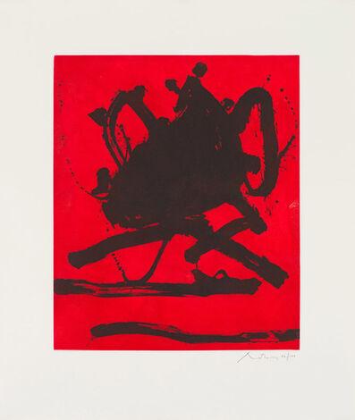 Robert Motherwell, 'The Red Sea II (Belknap 211)', 1979