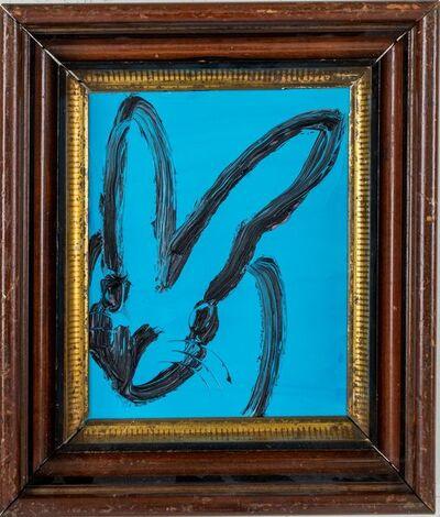 Hunt Slonem, 'Blue Bunny', 2019