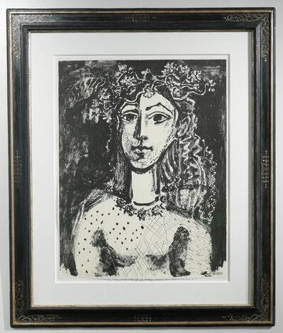 Pablo Picasso, 'Jeune fille inspiré par Cranach (black)', 1949
