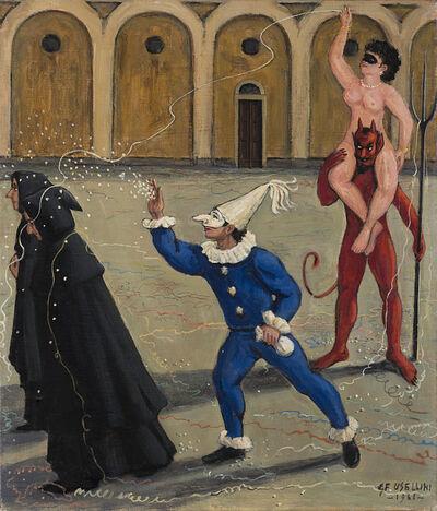 Gianfilippo Usellini, 'Untitled (le tentazioni)', 1961