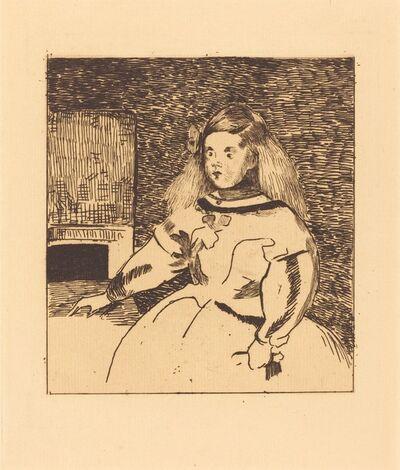 Édouard Manet, 'The Infanta Marguerita (Infante Marguerite)', 1861