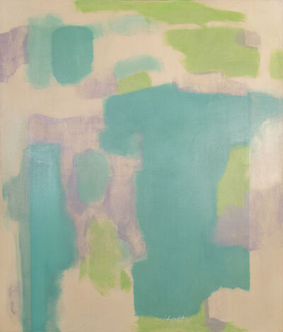 Carl Holty, 'Green Ice', 1960
