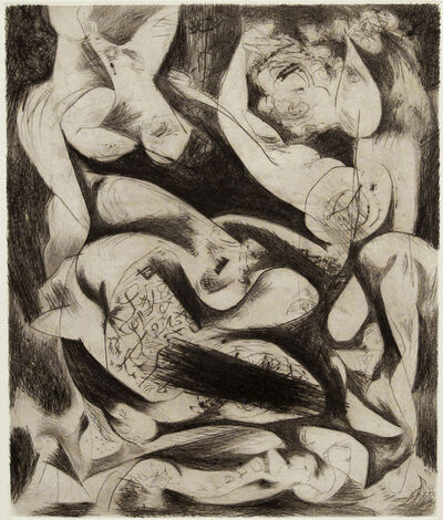 Jackson Pollock, 'Untitled, 1074 (P14) ', ca. 1944