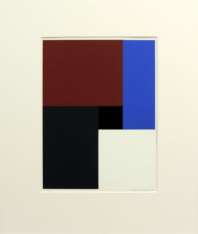 Aurelie Nemours, 'Droiterose ', 1982