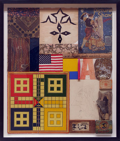 Peter Blake, 'Homage to Robert Rauschenberg No. 6 'The Queen of Germany' ', 2011