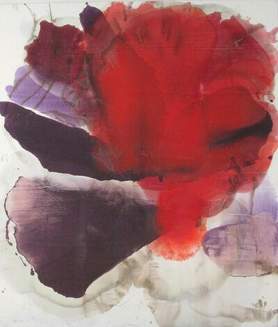 Dirk de Bruycker, '(Liquid Flower) Vermillion', 2015