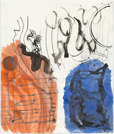 "Per Kirkeby, '""Untitled""', ca. 1985-1986"
