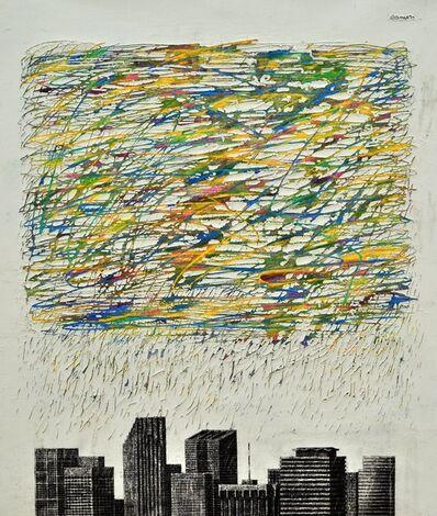 Juan Ranieri, 'Sudden storm over the Downtown ', 2017