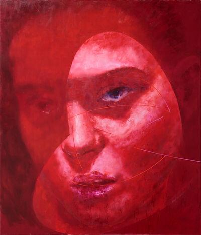 Pawel Ksiazek, 'Composition 23 (Lea Seydoux)', 2017