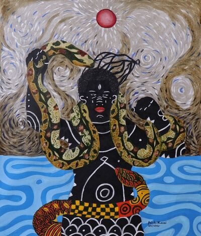 Kelechi Nwaneri, 'Mami wata', 2021