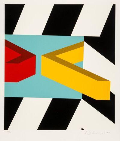 Allan D'Arcangelo, 'Caves', 1979