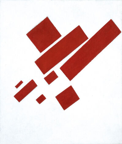 Kasimir Severinovich Malevich, 'Suprematist Composition (with Eight Red Rectangles)', 1915
