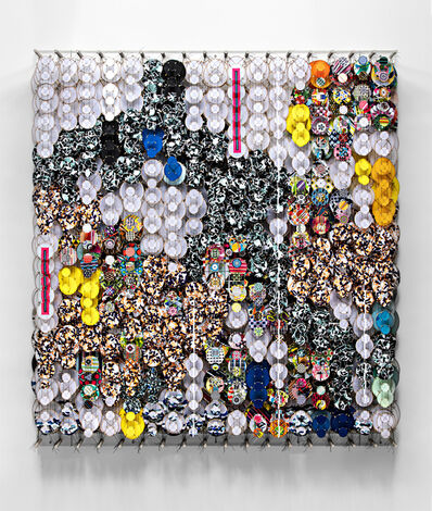 Jacob Hashimoto, 'Outside the Compass of Perpetual Patterns', 2021