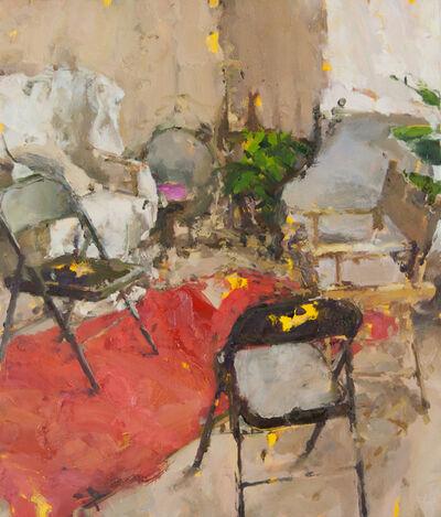 Jordan Wolfson (b.1960), 'Interior with Five Chairs III', 2015