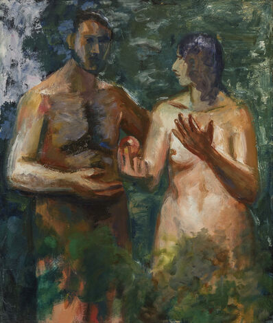 Elmer Bischoff, 'Adam and Eve', 1966