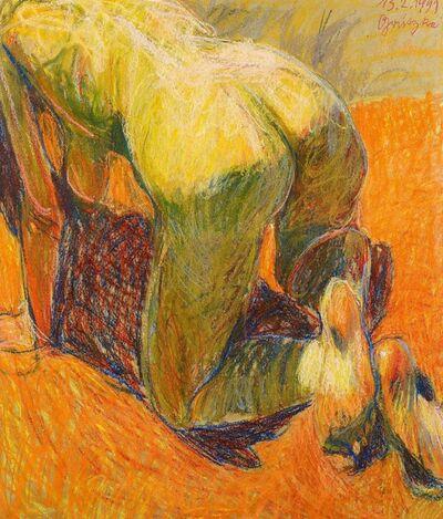 Johannes Grützke, 'Auf allen Vieren', 1999