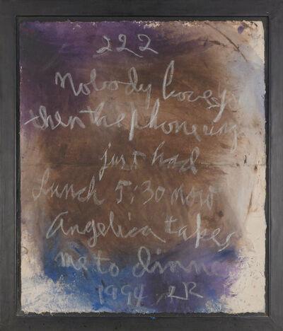 Rene Ricard, 'Untitled (222)', 1994