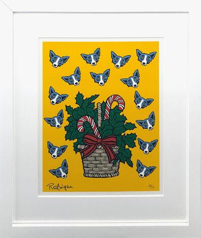 George Rodrigue, 'HIGH ON SUGAR (BLUE DOG)', 2000