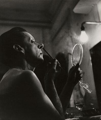 Ferenc Berko, 'Clown Putting on Makeup', 1949 / 1949