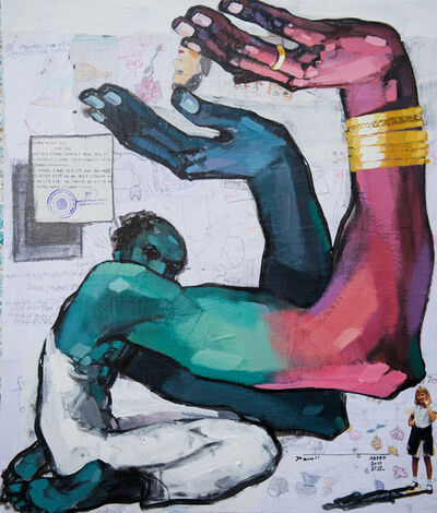 Dawit Abebe, 'Long Hands 30', 2021