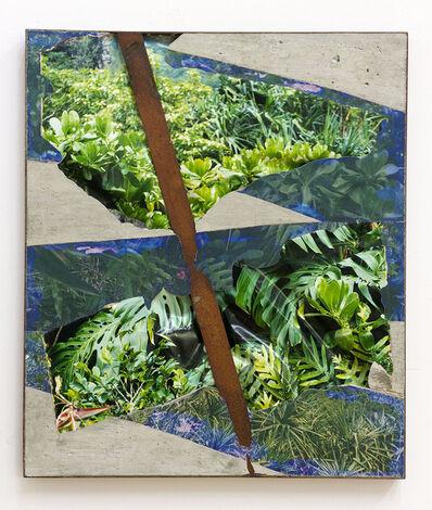 Letha Wilson, 'Steel Face Concrete Bend (Kauai Greens)', 2019