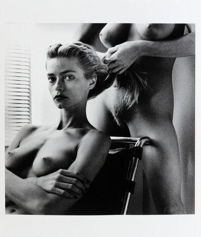 Helmut Newton, 'Two Playmates', 1986
