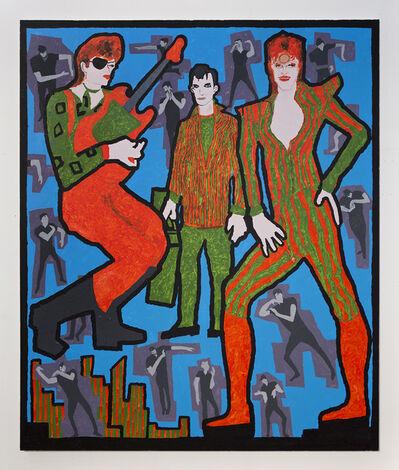 Derek Boshier, 'David Bowie, Jack Kerouac, and David Bowie', 2016